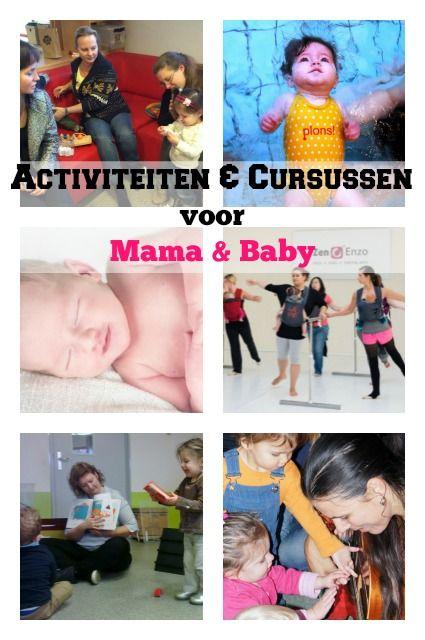 Activiteiten en cursussen voor moeder & kind met mama cafe, babyzwemmen, babymassage, babydans, baby gebaren, sensory play en muziek op schoot - Mamaliefde.nl
