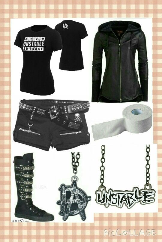Aria's Outfit/Ring Gear, for Valeting Dean Ambrose out to his ReMatch against Cesaro, on Monday Night Raw (Nov. 3. 2014).