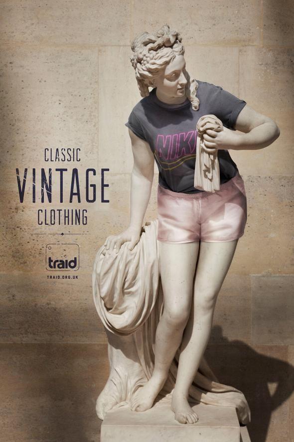 Traid: Vintage statue, 2 http://adsoftheworld.com/media/print/traid_vintage_statue_2