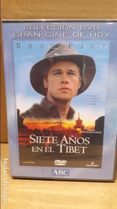 SIETE AÑOS EN EL TIBET. BRAD PITT. DVD / TRIPICTURES - PRECINTADO.