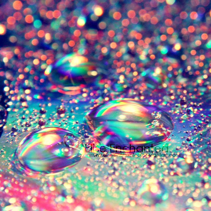 "Rainbow Drops! (photo via deviant art) Use pics to inspire kids + play color-matching game ""Rainbow Catcher"" https://itunes.apple.com/us/app/rainbow-catcher-bubble-breaker/id592063394?mt=8"
