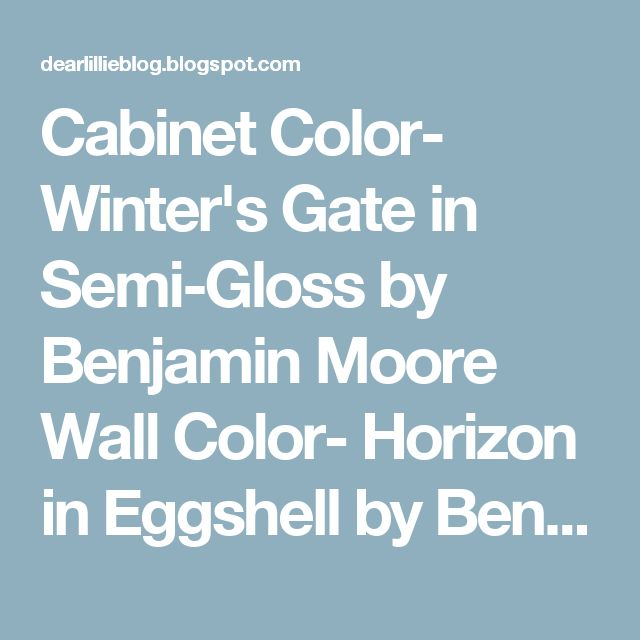 Cabinet Color- Winter's Gate in Semi-Gloss by Benjamin Moore Wall Color- Horizon in Eggshell by Benjamin Moore Trim Color - Simply White in Semi-Gloss by Benjamin Moore Door Color - Mopboard Black in Semi-Gloss by Benjamin Moore All appliances are Whirlpool and were purchased at Lowe's during their Memorial Day Sale Hood - Custom Built Farmhouse Sink - Signature Hardware Faucet - Wayfair Backsplash - purchased from McKenzie Restoration (but just basic white subway tile that can be purchased…