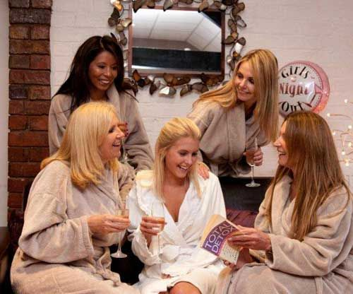 Think of a DIY Pamper Party you could have fun making your own products & do all your own pampering. Here are some great tips https://goo.gl/9O4Ej5