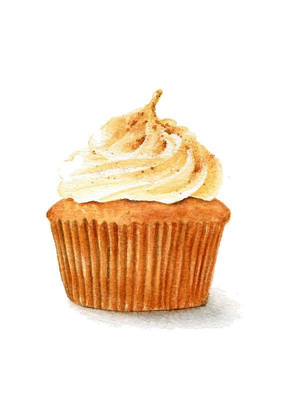 Hey, j'ai trouvé ce super article sur Etsy, chez https://www.etsy.com/fr/listing/173174449/original-painting-pumpkin-cupcake-sweet