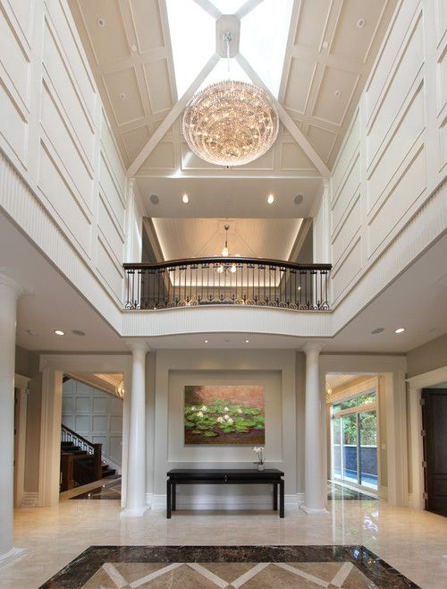 431 best Foyer and Staircase Designs images on Pinterest