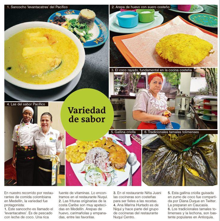 La twittercrónica buscó los lugares de nuestra ciudad donde conviven las mixturas culturales en la cocina. La diversidad del país está en Medellín.