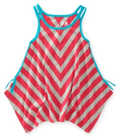 Kids Chevron Sharkfin Tank-$12.25 at aeropostale.com-also available in electric blue, orange smoothie, and brilliant blue.