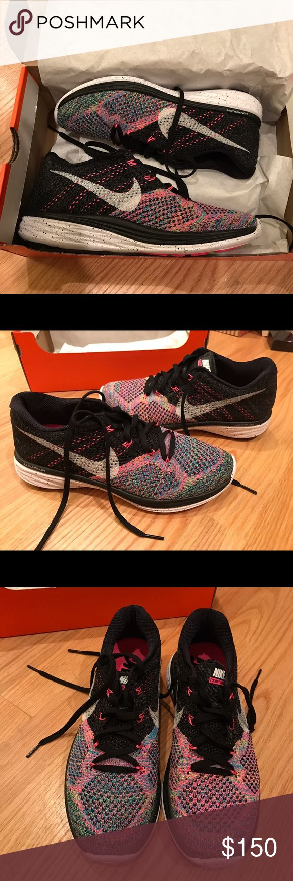 aaa67be548e39 ... Nike Flyknit Lunar 3 Blue Lagoon Pink Pow NWT ...