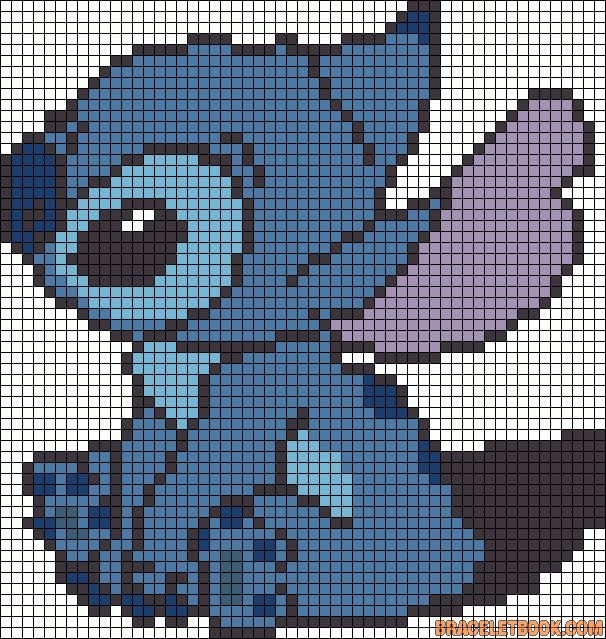 Stitch - from Lilo and Stitch. Hate the little Alien but my wife loves him so would make this for her!