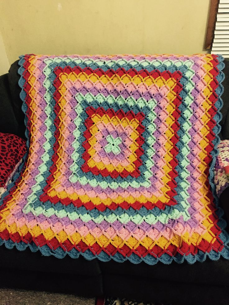 Wool eater blanket. Crochet projects i have made ...
