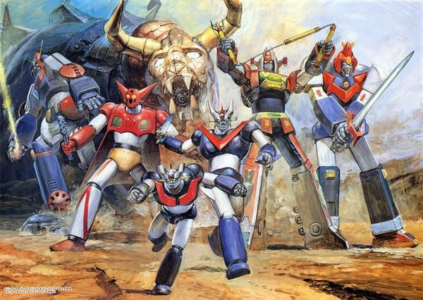 Shogun Warriors anime-An absolute precursor for almost every single mecha anime fan; at least it was for me.