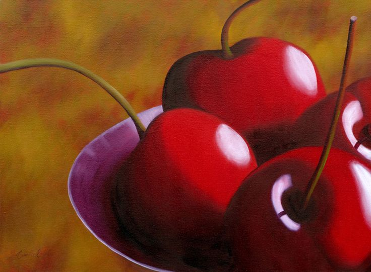 Modern Still Life Fruit Paintings | Camille Engel | Fruit  Vegetable Paintings
