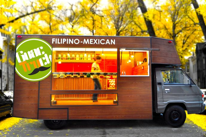 Guactruck - modern mobile eatery full of sustainable initiativesDesign Food, Sweets Food, Guac Trucks, Guactruck Design, Food Carts, Food Trucks, Mobiles Eatery, Eatery Design, Guactruck Mobiles