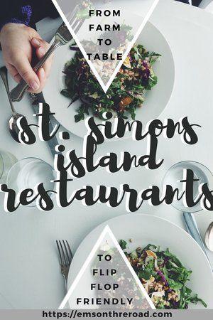 St. Simons Island Restaurants: A Local's Guide