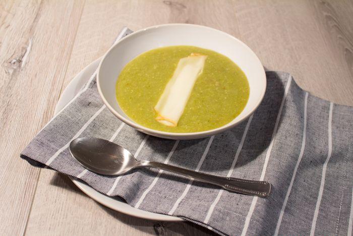 Crema asparagi e okra ricetta