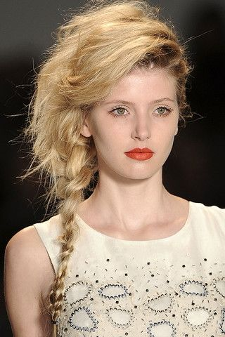 summer runway hair