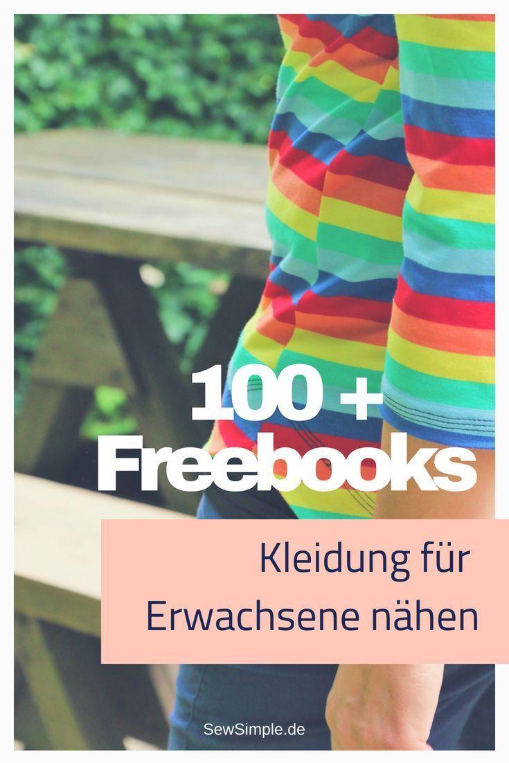 Freebooks: Kleidung für Erwachsene nähen – Nadja Fichtenau
