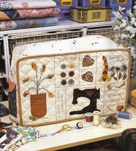 moldes para funda de maquina de coser