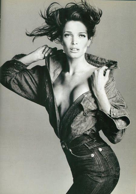 Stephanie Seymour by Richard Avedon for Versace F/W 1993.