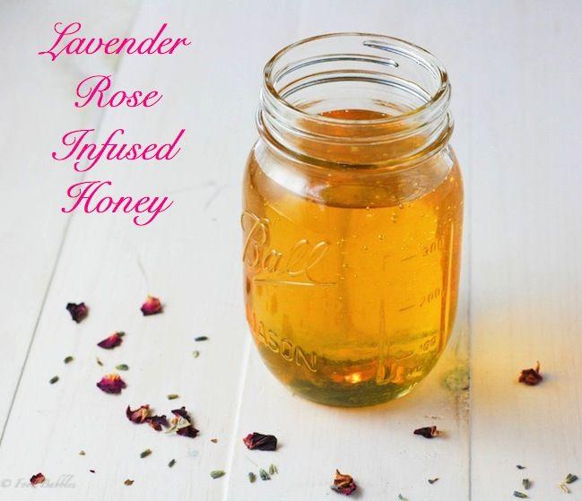 Post image for Lavender Rose Infused Honey