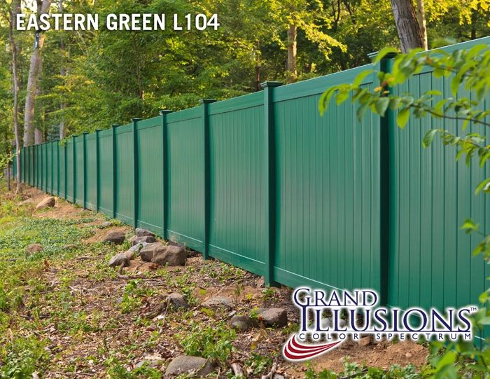 Illusions Pvc Vinyl Fence Photo Gallery Building A Fence