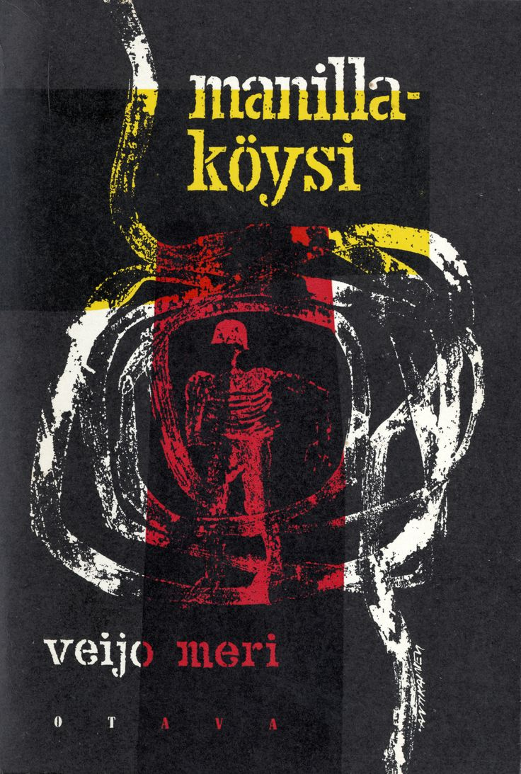 Title: Manillaköysi | Author: Veijo Meri | Designer: Kosti Antikainen