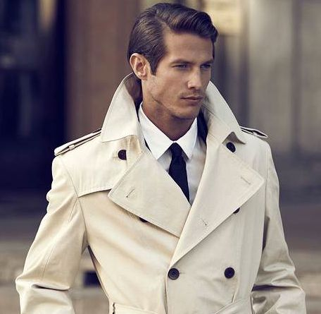 Classic trench.