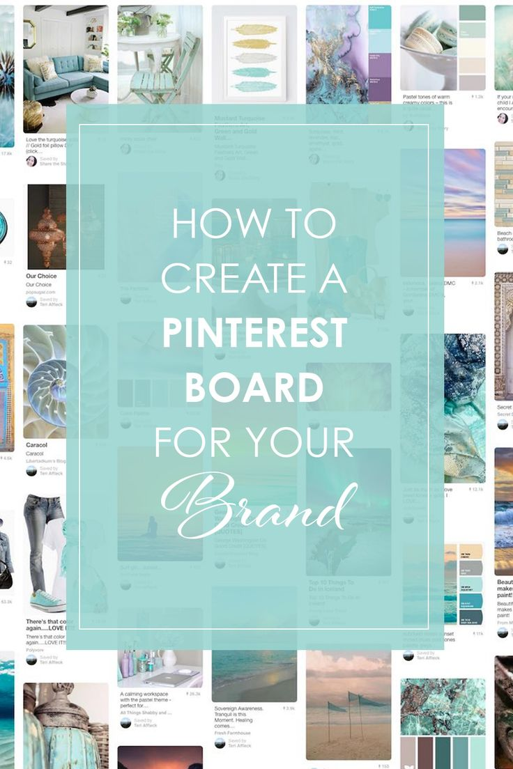 A pinterest board is a great way to visualize your style and start designing your brand. http://sharethestories.com.au/how-to-create-a-pinterest-board-for-your-brand/