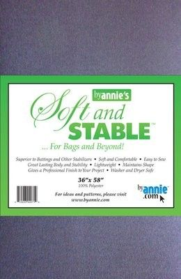 ByAnnie's Soft & Stable weiss Fat Quater 50 x 75 cm - Vlies & Co