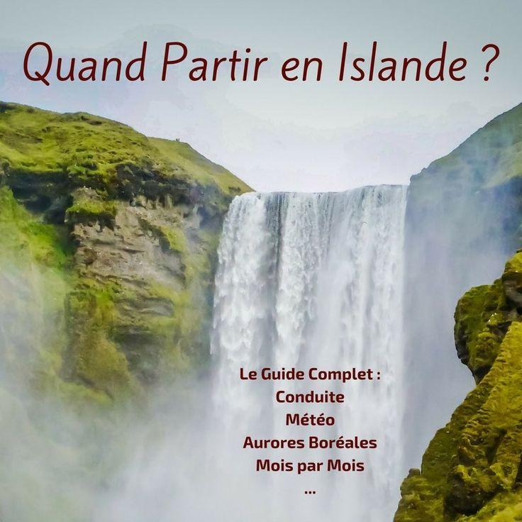 Découvrez quand partir en Islande suivant vos intérêts et la météo, l'état des routes, les aurores boreales, les macareux... avantages mois par mois