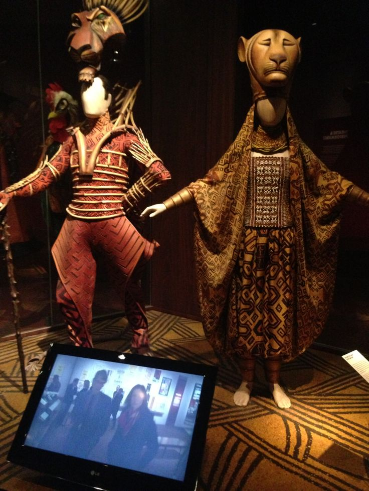 The lion king musical costumes