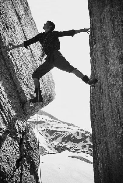 Reinhold Messner. First man to scale Everest solo without supplemental oxygen.---AND GREAT MAN TOO!!!