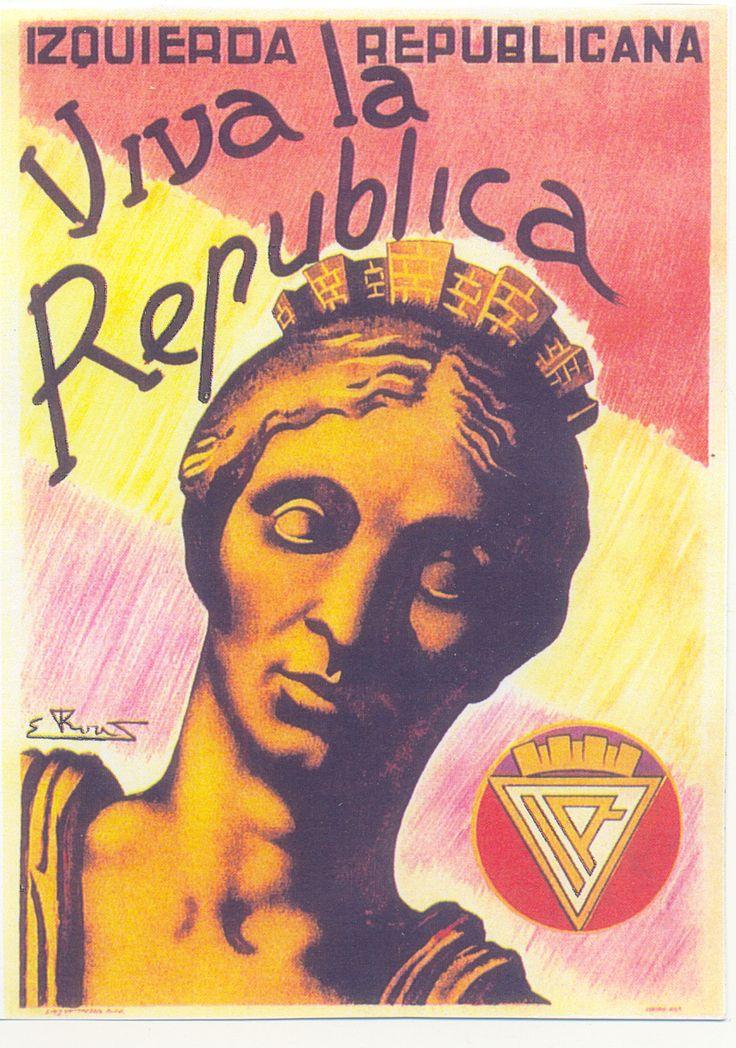 Spain - 1936. - GC - poster - autor: Rovus - Izquierda Republicana