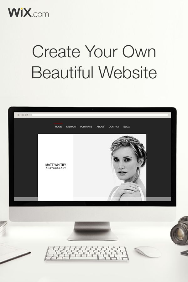 A beautiful website is always in style. Create yours today with Wix. It's easy & free.