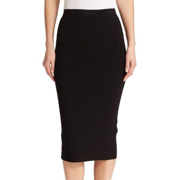 Top 25 ideas about Long Black Pencil Skirt on Pinterest | Pencil ...
