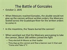 Image result for battle of gonzales