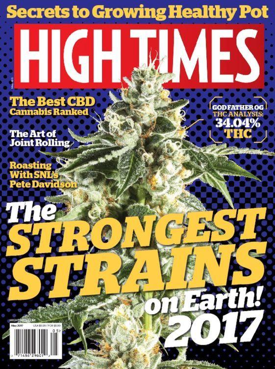 Buy High Times Magazine Subscription USA | MagazineCafeStore.com NYC