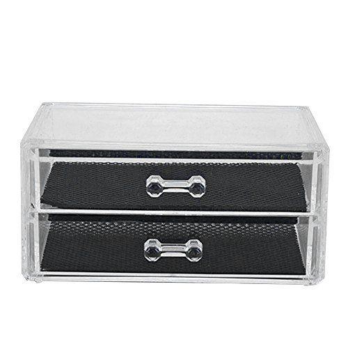 Neverland cosmetiques Organisateurs acrylique transparent Container Makeup Case Holder Cosmetic Stockage: Tweet La description: Parfait…