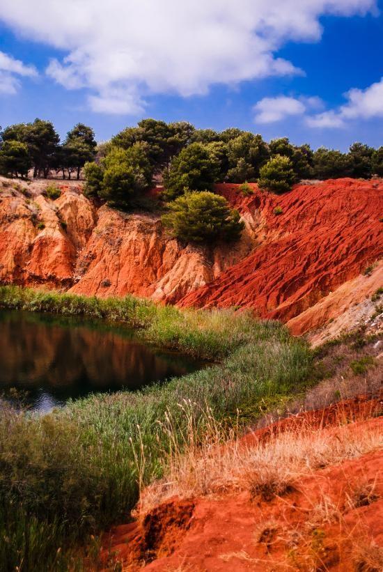 Cava di Bauxite, Otranto:Salento - Puglia - Terre rosse
