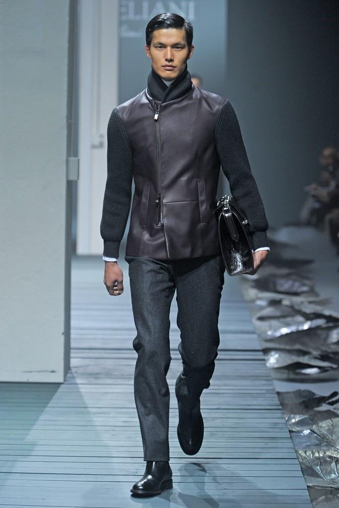 Milan Fashion Week - Corneliani Fall Winter 2013/2014.