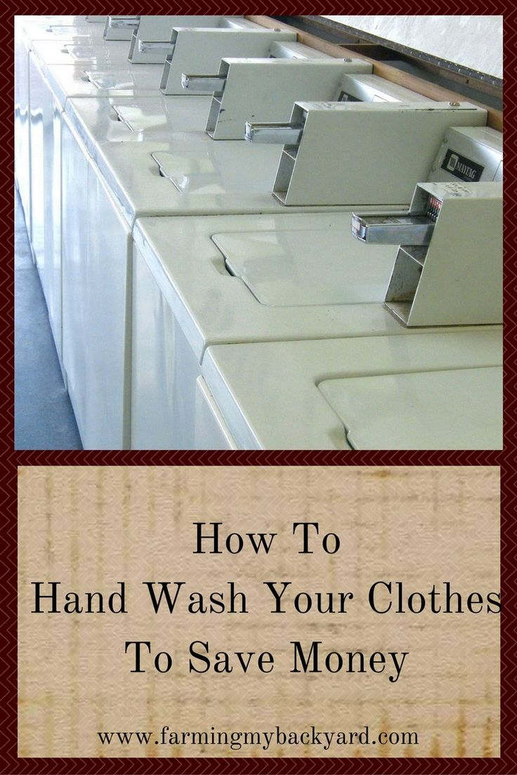Broken washing machine?  Need to save up for a new one?  Here's how to hand wash your clothes instead of hauling them to an expensive laundromat.