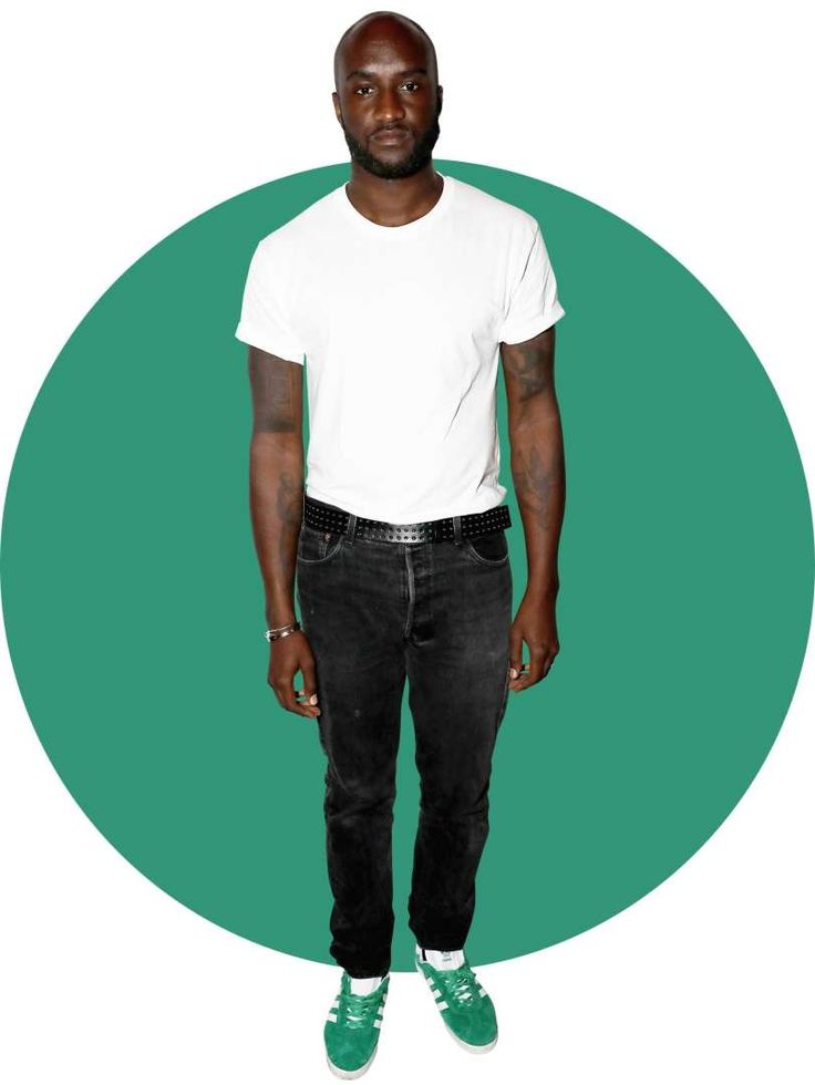 The 64 Most Stylish Men of 2016:      Virgil Abloh:   Would Kanye's own creative director be anything but stylish? Abloh's label Off‐White is known for its diagonally striped everything, while Abloh himself is on a purely vertical ascent up the fashion world ranks.