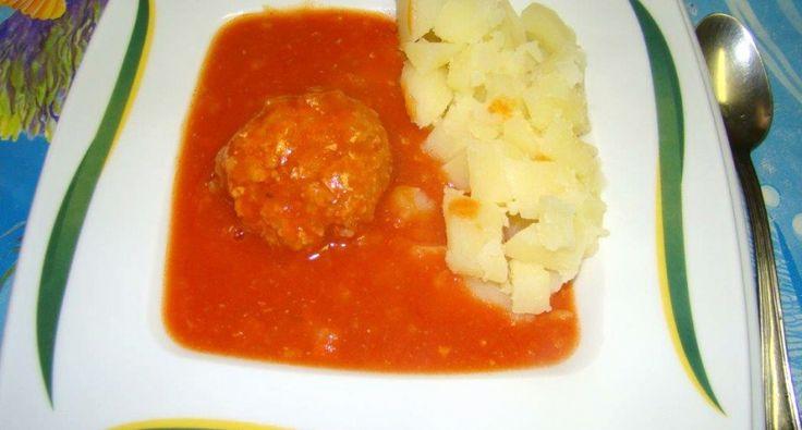 Paradicsomos húsgombóc recept | APRÓSÉF.HU - receptek képekkel