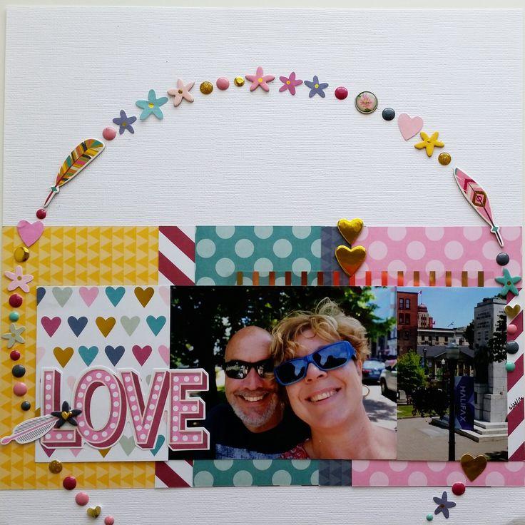 Love (Halifax) - Scrapbook.com    Simple Stories So Fancy collection