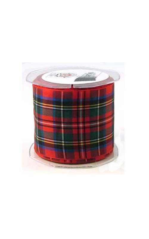 Tartan Ribbon, 70mm wide by Scotweb