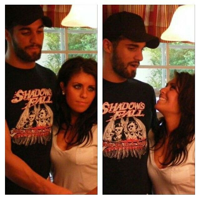 Seth rollins and his awesome girlfriend they are so cute together