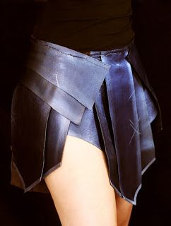 Wonder Woman Costume Skirt- DIY Cosplay  Dragon Born, the Phoenix Rises: Wonder Woman Skirt Part II