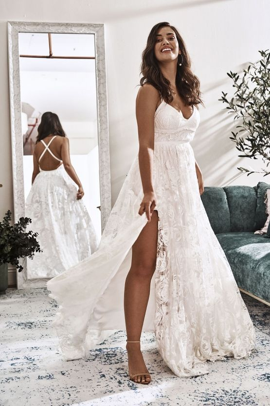 8a505a120 10 Reasons You Should Shop for Your Wedding Dress at The Grace Loves Lace  NYC Boutique – Megan Gown 2
