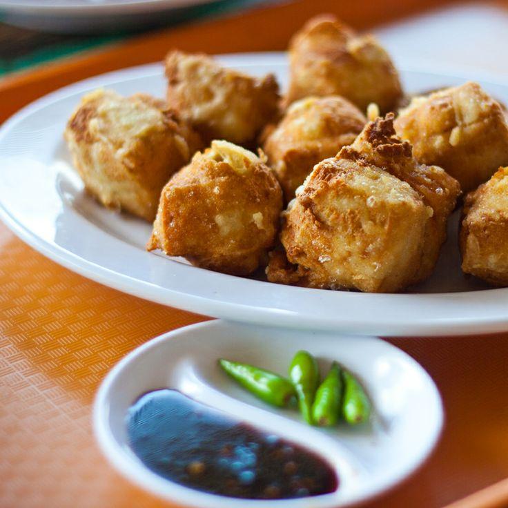 Tahu Poong di Pasar Ah Poong Sentul City Bogor