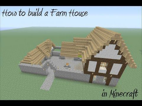 How to build a Farm House in Minecraft